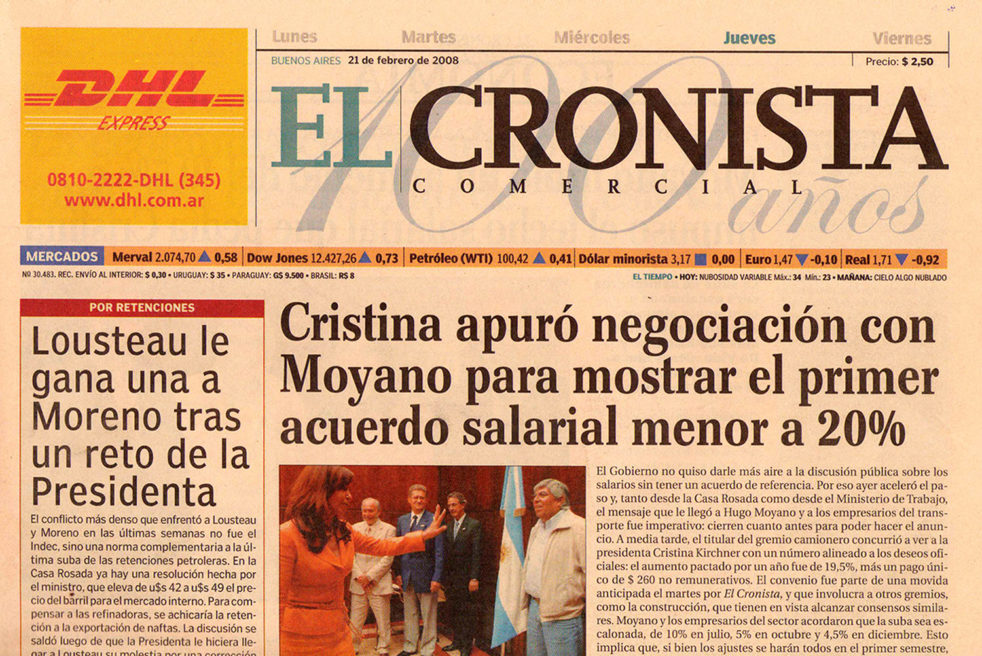 El Cronista Newspaper