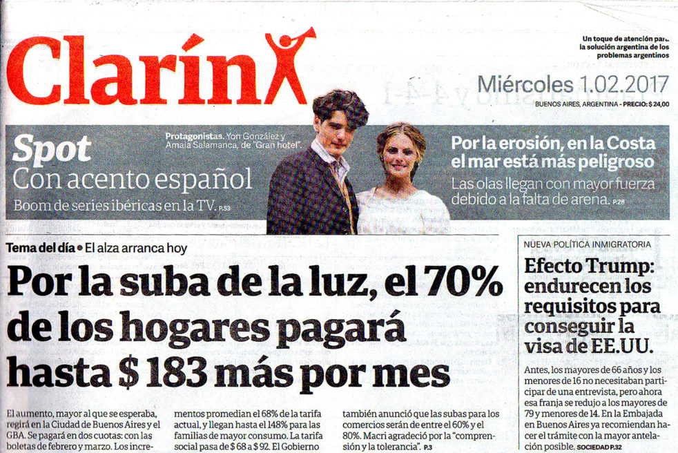Clarin Newspaper