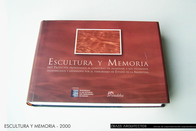 01-2000 LIBRO ESCULTURA Y MEMORIA