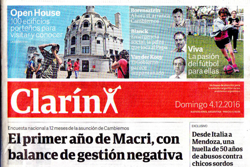 Open House in Clarin Newspaper