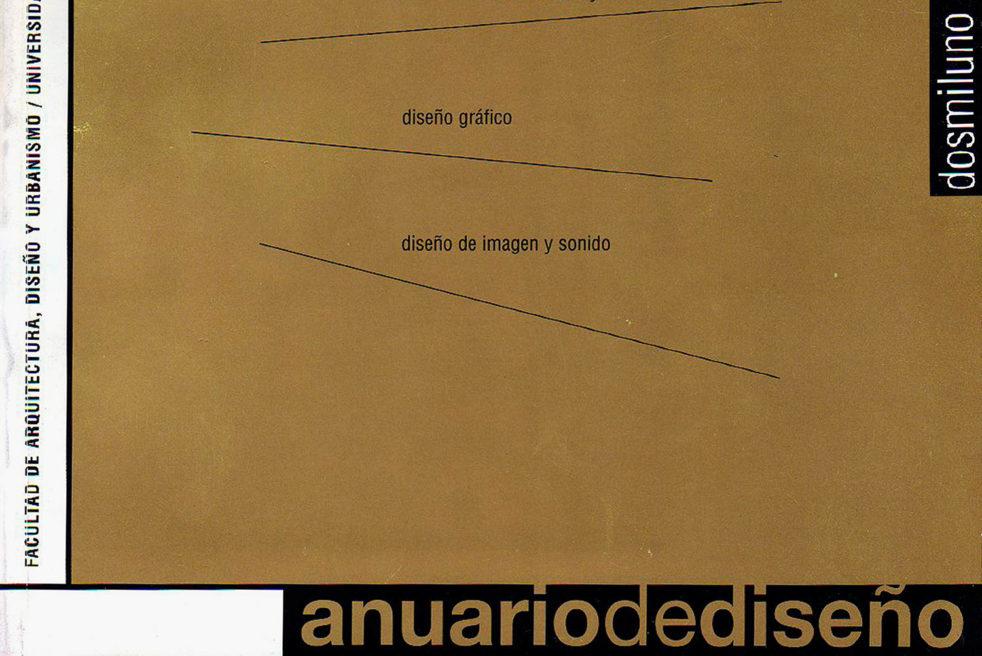 Libro Anuario Diseño 2001