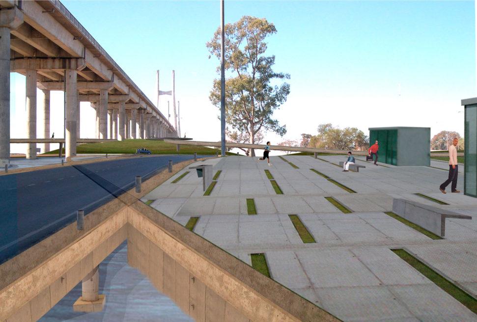 Cabecera Puente Rosario-Victoria Park