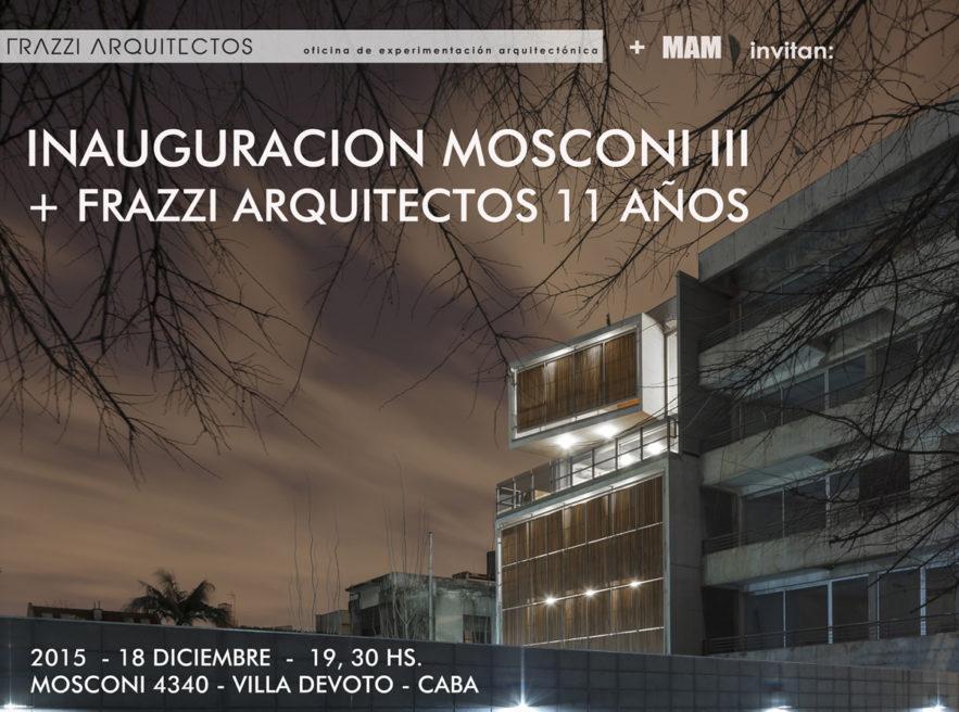 INAUGURACIÓN MOSCONI III