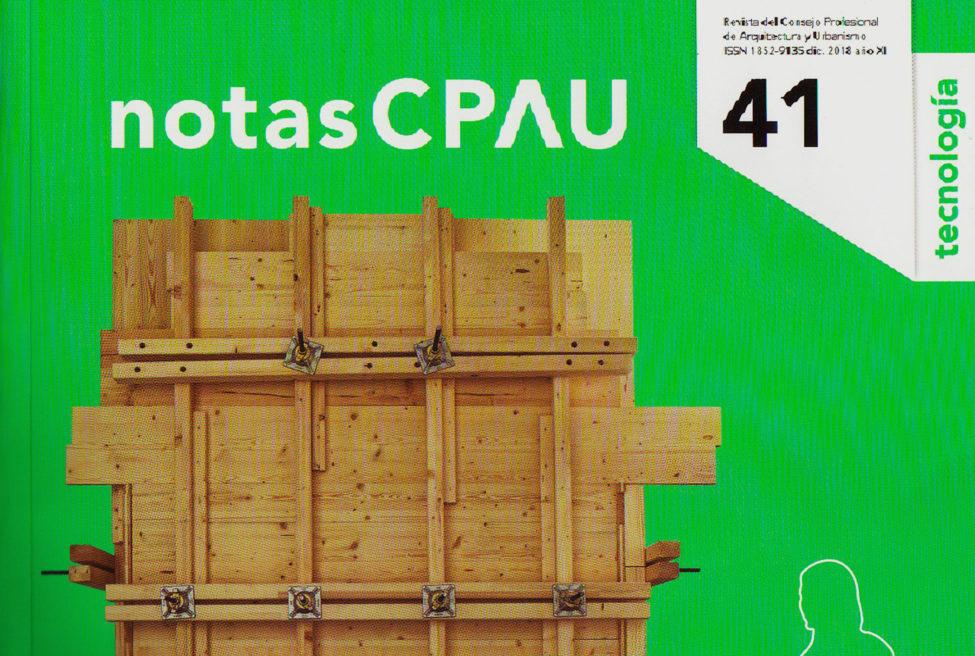 NOTAS CPAU Nº41